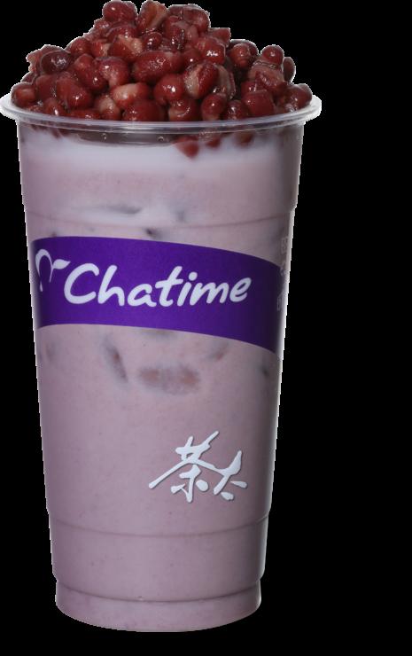 Thé au lait Taro Perle et Haricot Rouge